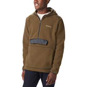Columbia Rugged Ridge Sherpa Pullover Capuchon Trui Heren, olive green/black